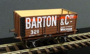 DA7F-073-004 7 Plank Wagon 9ft Wheelbase 3 Door Barton & Coy